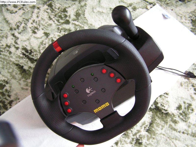 Logitech Momo Racing FF Wheel   Digital Ectoplasm